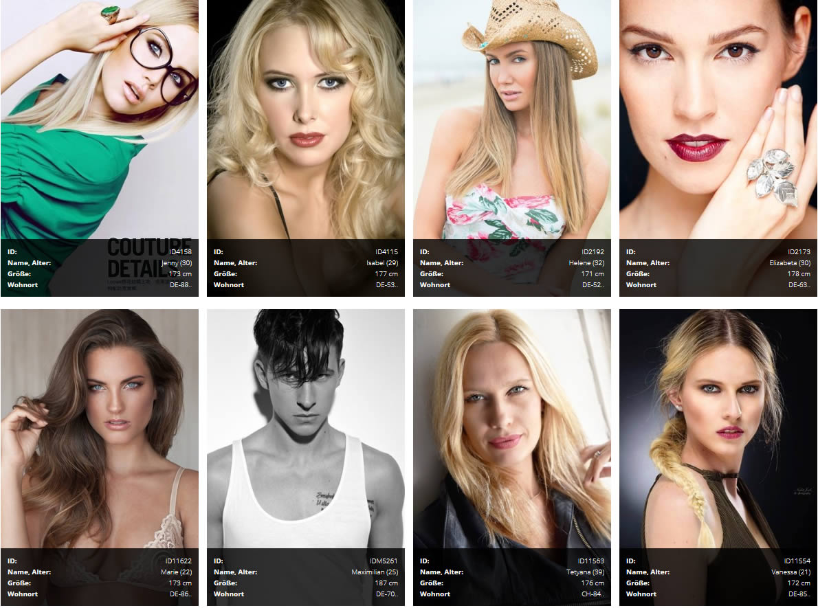 Models und Casting | Model-BB.de